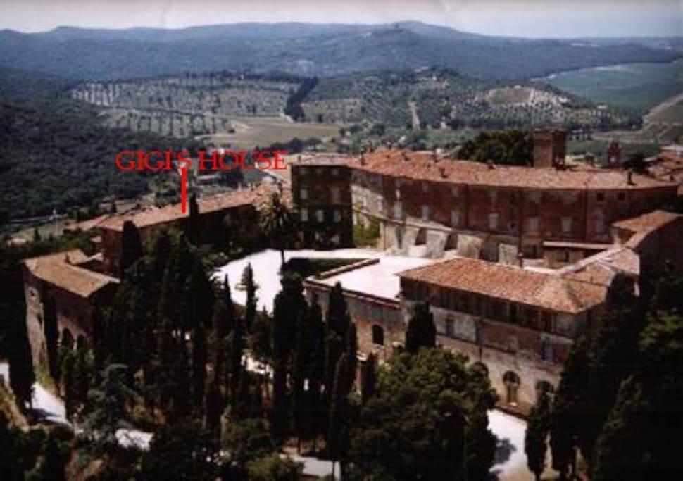 AERIAL VIEW OF GIGI'S HOUSE
