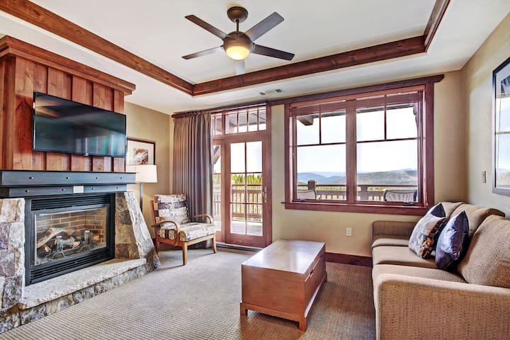 *NO GUEST SERVICE FEE* Slopeside 1Br 2Ba w/High-end Finishes - Rocky Mountain Views