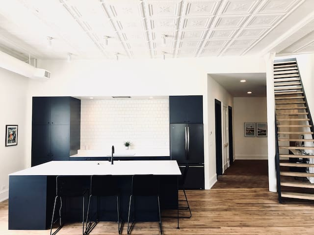 Former factory transformed to modern condo