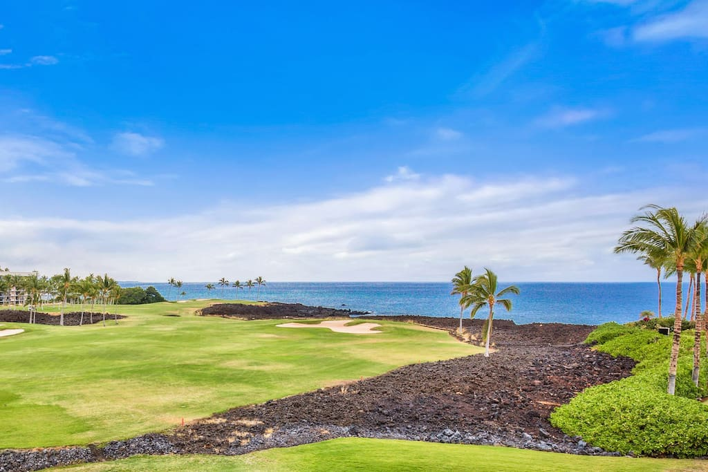 Picture yourself here! Actual views from YOUR lanai!