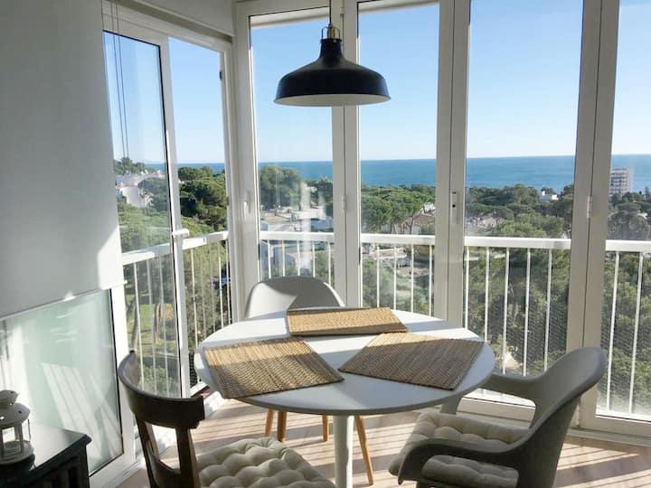 Girorooms - Apartment in Platja d'Aró quiet area with sea views - TRAMUNTANA