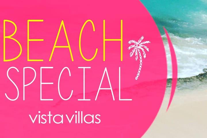 Villas on the beach GROUND APT DIRECT BEACH ACCESS