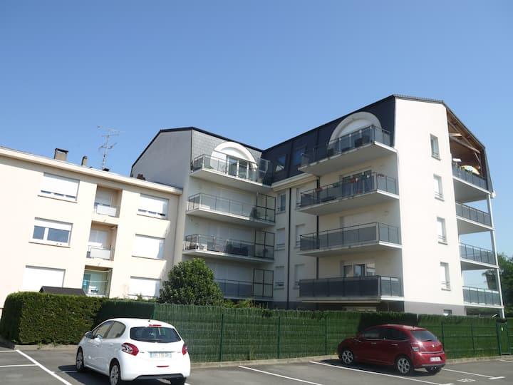 Thionville idéal pour déplacement -2 chambres -
