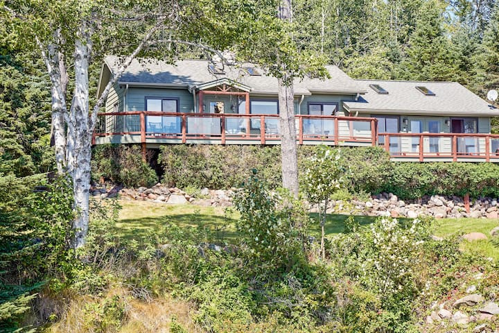 'Serenity' 2BR Schroeder Cabin w/ Lake Views! - Schroeder - Cottage
