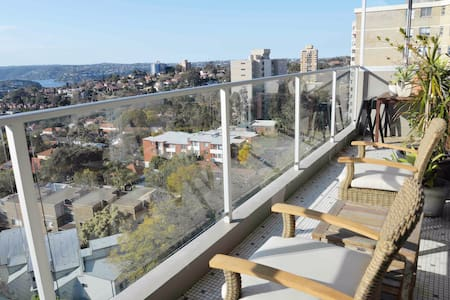 Lovely sunny apartment with stunning views
