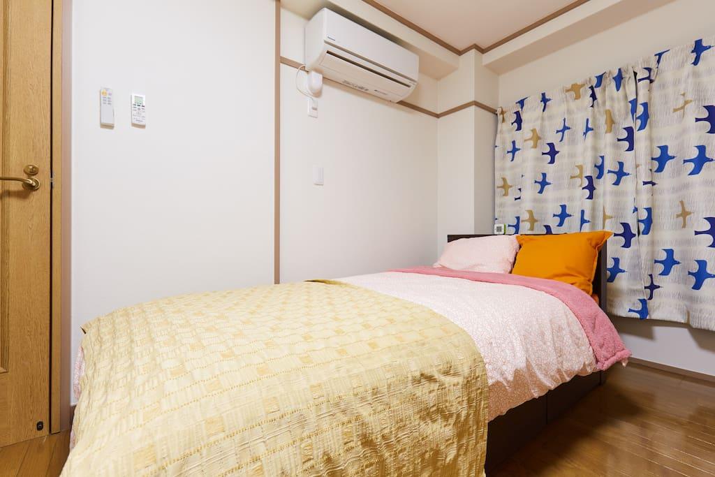 暖房機/クーラー完備 Heating machine / air conditioner equipped