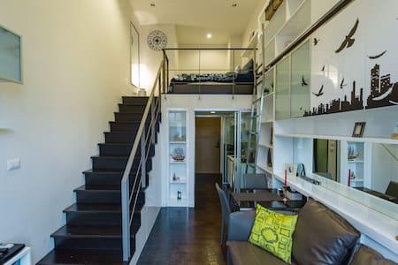 NewHipDuplex•300m toBTS Thonglo•Comfy Bed• 欢迎各位贵宾 - Bangkok - Appartement