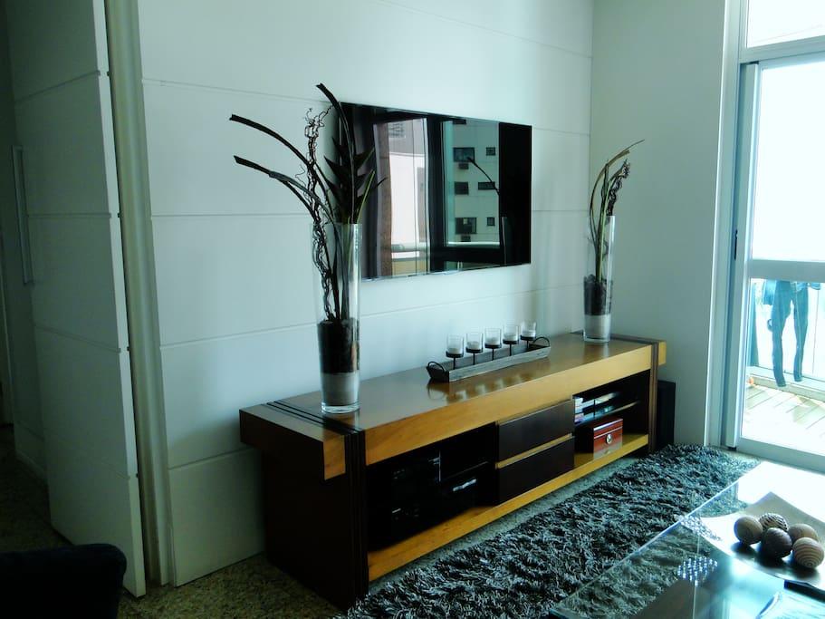 Televisão a cabo, DVD e home teather