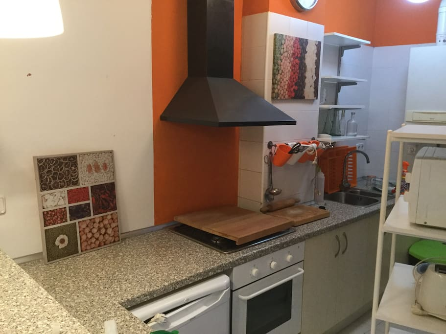 Cuina/cocina/kitchen