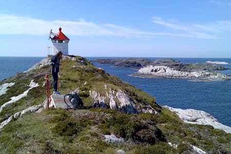 Seaside fishing apartment - 1 hour from Bergen. - Hellesøy