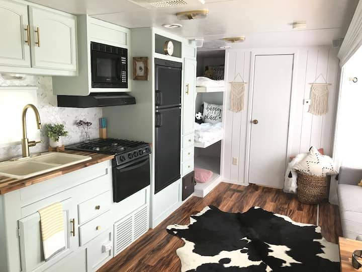 Unique and renovated boho camper