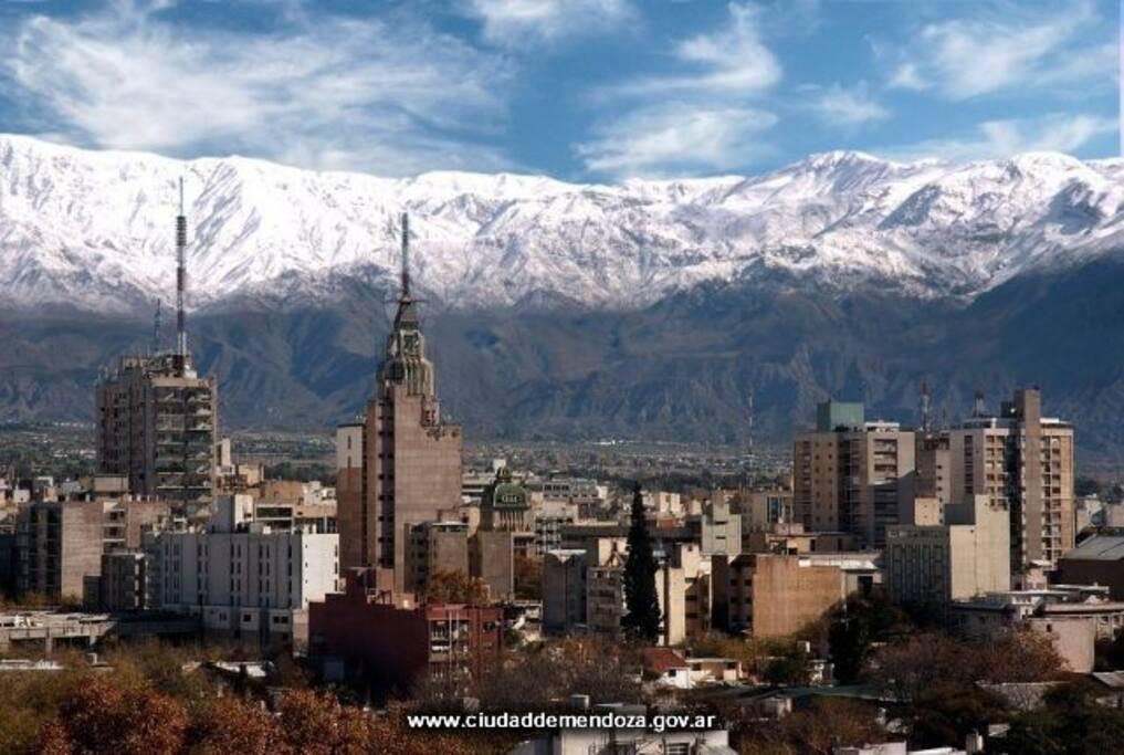Vista ciudad de Mendoza/ View city of Mendoza
