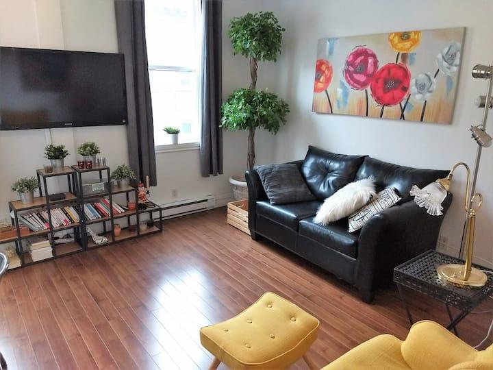 Bel appartement douillet à Québec city 31 j mini
