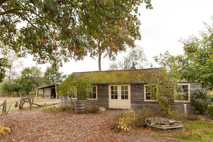 Gezellig huisje midden in de natuur - Uddel - Kulübe
