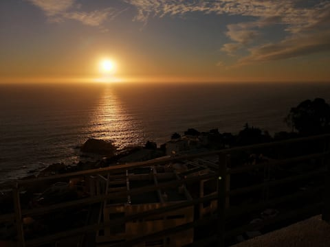 Reñaca Mar II SUNSET- Great Ocean View
