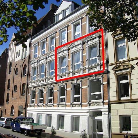 Gastwohnung Kiel Zentrum - Kiel - Apartamento