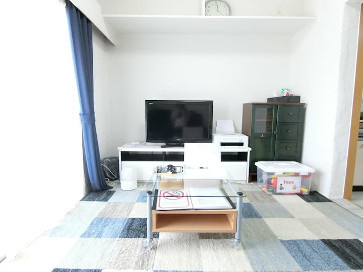 【Entire Home・Free parking】Spacious Room in Kasugai