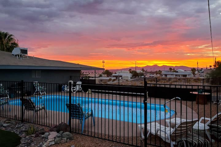 Efficient Lake Havasu Apartment with Private Pool!
