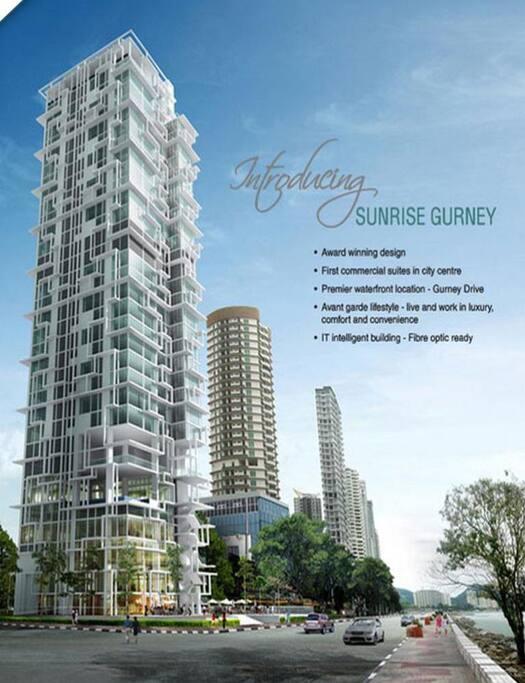 Seaview Duplex Condo   Gurney Penang  U69df U57ce U5173 U4ed4 U89d2 U4e4b U6d77 U666f U516c U5bd3