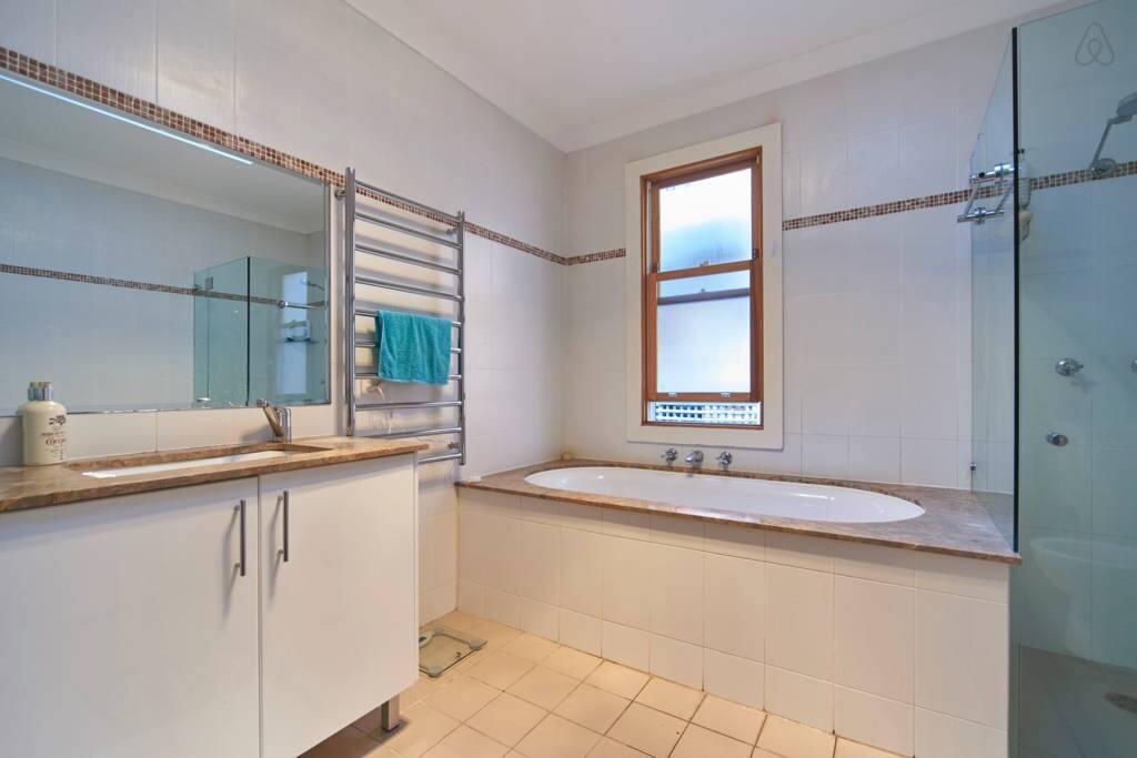 Large clean bathroom.