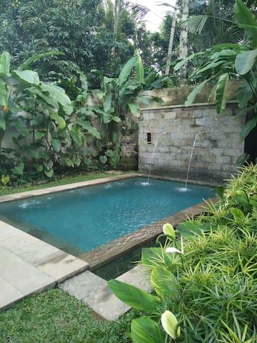 Klusa meet Tjampuhan Pool Villa - Payangan - Villa