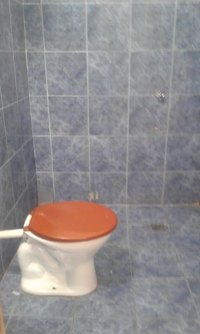 Baño y ducha caliente privado