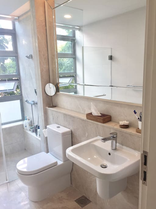 Guest own bathroom