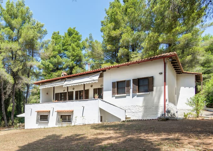 Sani 3bdrm summer villa - Sane - Casa de camp
