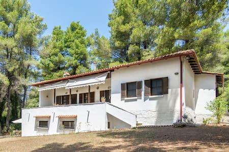 Sani 3bdrm summer villa - Sane - Casa de campo