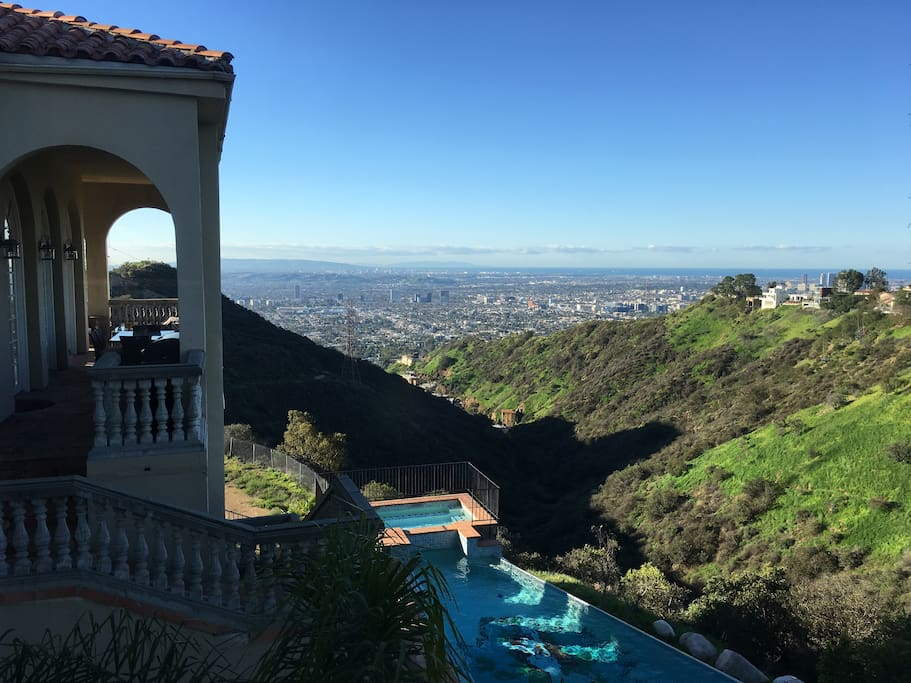 The backyard view will leave you breathless.
