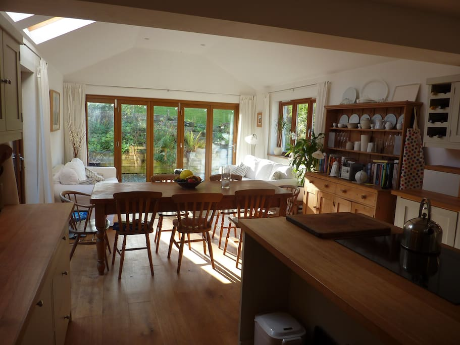 The upstairs Dining Kitchen where you will be served breakfast