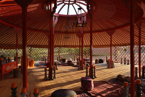 Samadhi Nest Camp - Yurt 4 (two twin size)