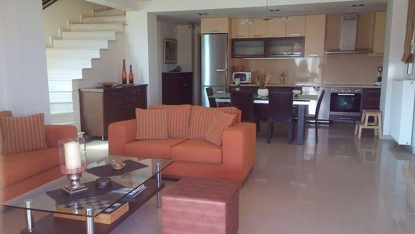 Villa Asterias beach house - Agios Mamas - Talo