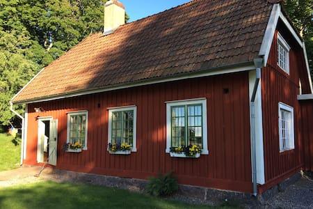 Summer paradise by Göta Kanal - Karlsborg
