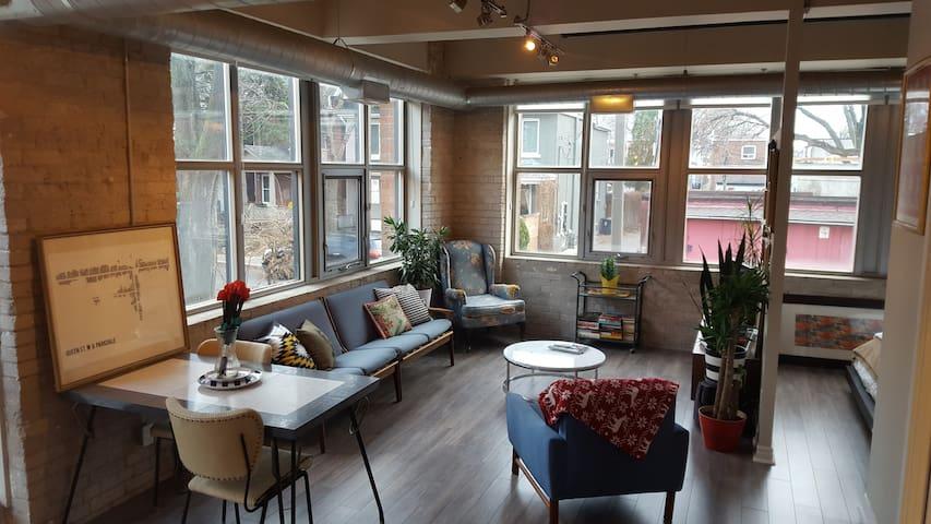 Heritage Loft in Roncesvalles - Toronto - Appartement