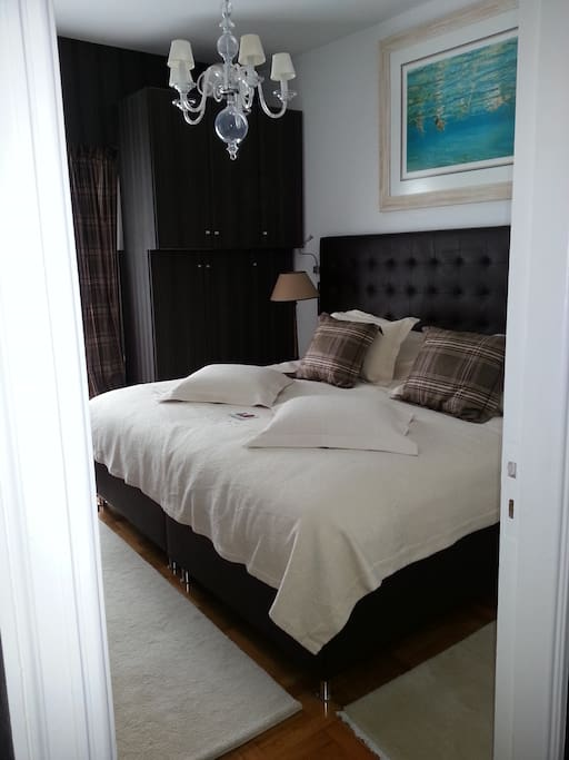 the first bedroom (DB)