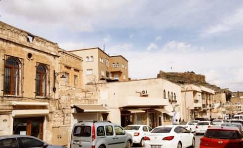 Mesopotamian city Mardin guide's mansion