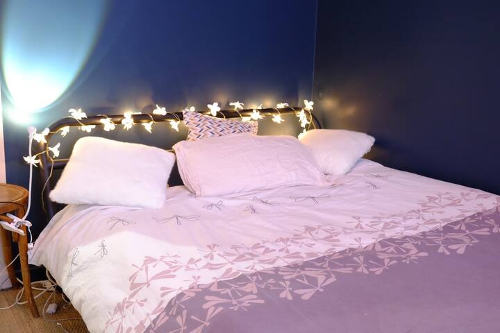 Chambre 2 avec lit double tout récent