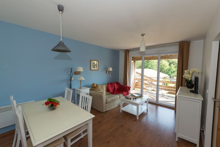 Appartement T3 (2 chambres) aux Cottages du Lac*** - Parentis-en-Born - Wohnung
