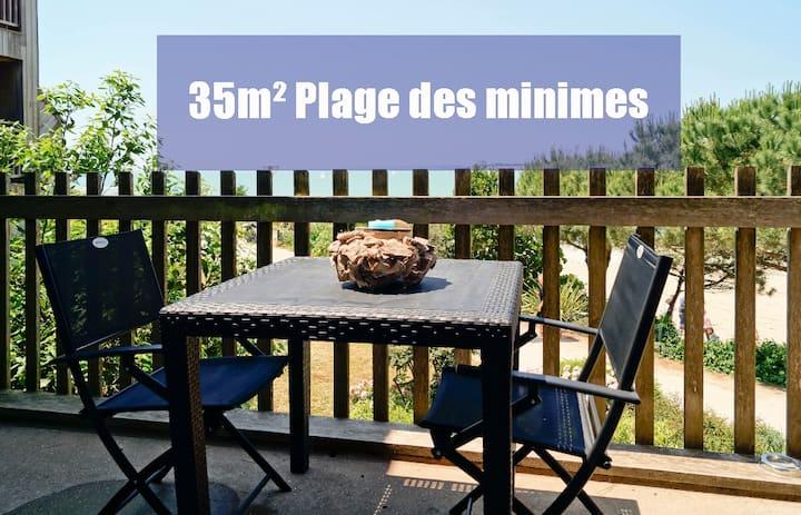 Appartement 35m² avec balcon et vue sur mer !