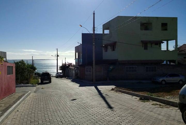 Casa para alugar na praia.