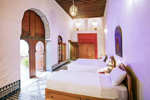 Dar Drissi guest house - Courtyard Salon