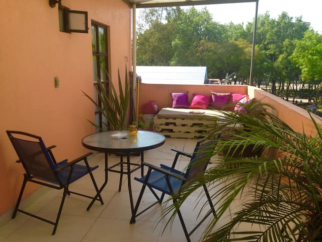 Downtown apartmen with terrace