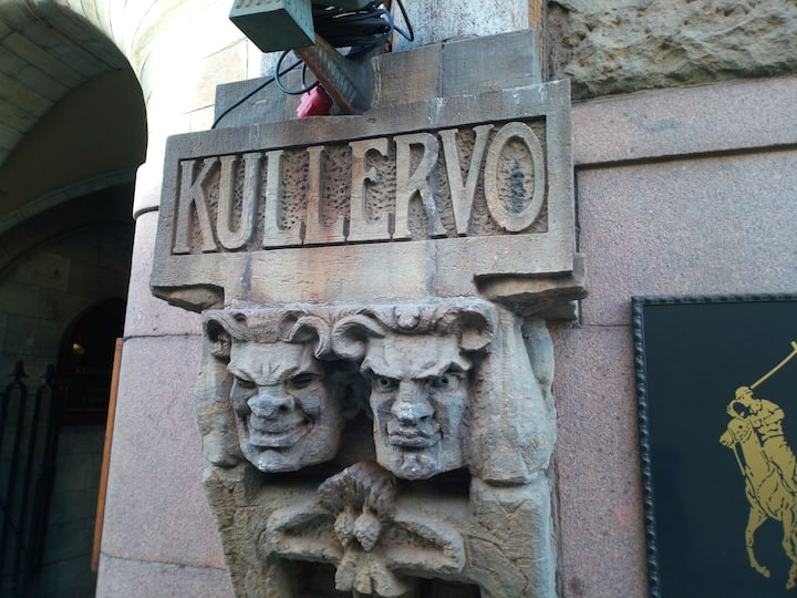 Some of Kullervo's many faces.