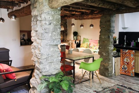 Beautiful Rustic House in Downtown Bronchales