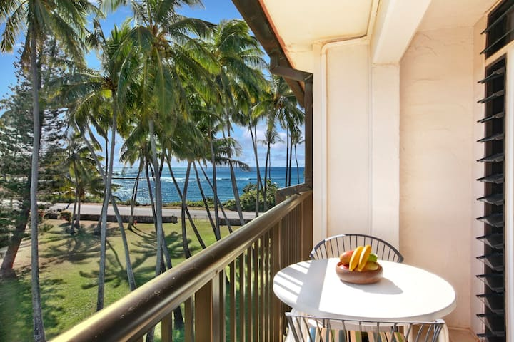 Prince Kuhio 307 Ocean View w AC in bedroom!