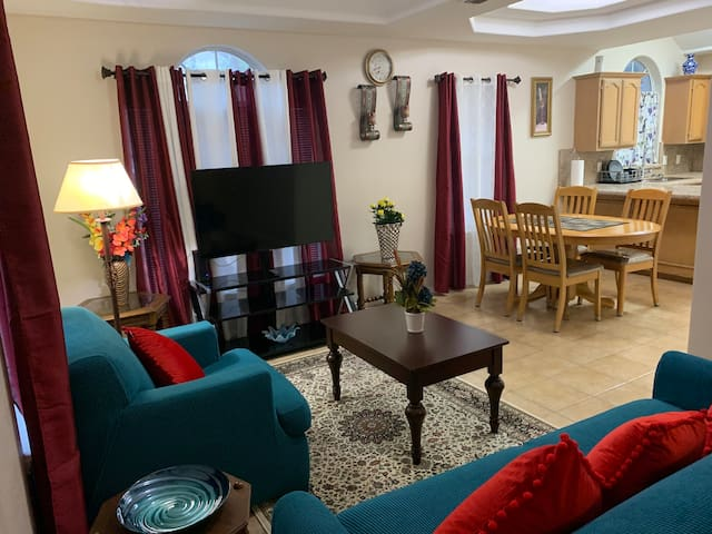 Private Fully Furnished Apartment -2 bed / 2 bath
