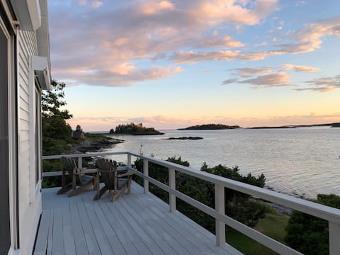 Oceanfront Cottage, Maine Midcoast, Indian Point