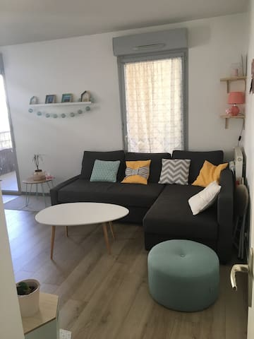 Appartement cosy proche Tours