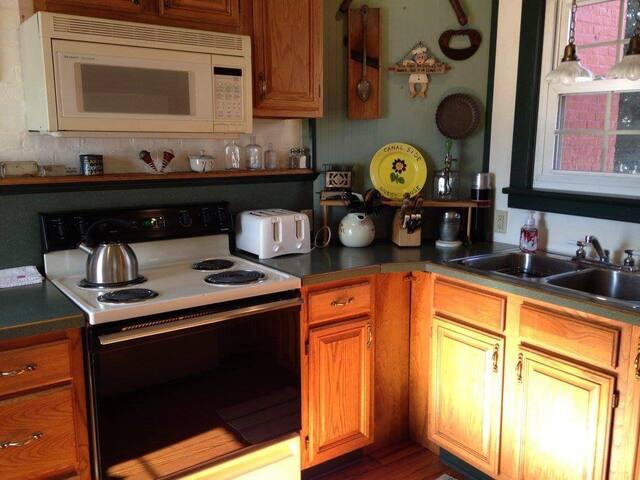 Guest side kitchen